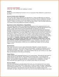 Lovely Resume Impact Statement Examples Examples Of Resumes Resume