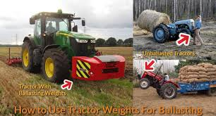 How To Use Tractor Weights For Ballasting Mechanicwiz Com