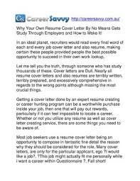Calameo Why Your Own Resume Cover Letter By No Means Gets Study