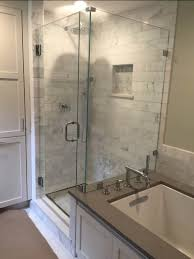 install a glass shower wall glass doctor