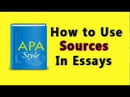 apa citations sample research paper