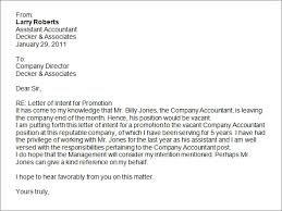 Letter of intent for promotion5