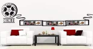 strip picture frame wall decal