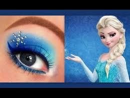 disney s frozen elsa makeup tutorial