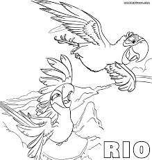 Small Picture Rio Coloring Pages In Coloring Pages itgodme