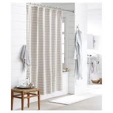 beige and white shower curtain. light stripe shower curtain (72\ beige and white e