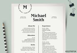 It Modern Resume Modern Resume Layout Kit Buy This Stock Template And Explore