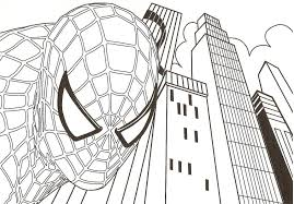 Coloring Pages Spiderman Coloring Pages Gamese Printable For Kids
