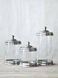 canisters extraordinary clear glass canister set kitchen target with in glass kitchen canister sets