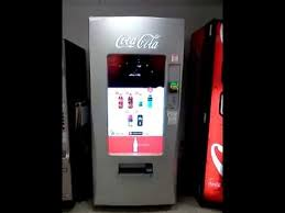 Coca Cola Touch Screen Vending Machine