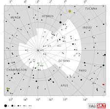 North Celestial Pole Star Chart Octans Constellation Facts Story Stars Location