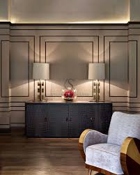 wall art for office space. wall treatment interior design chobham stephen clasper interiors combined w recessed lighting and lamps for art deco effect wall office space