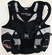 Aqua Lung Seaquest Size M L Balance Bcd Surelock Ii Weight
