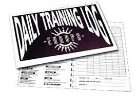 Daily Workout Journal Daily Training Log Workout Journal