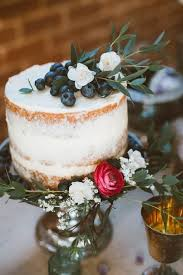 34 Yummy Semi Naked Wedding Cakes Happyweddcom