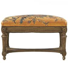 French Ottoman french louis xvi style painted antique foot stool ottoman 19th 1732 by xevi.us