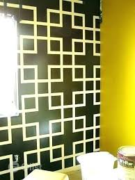 pattern wall designs with tape paint