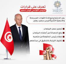 القرارات الإستثنائية للرئيس التونسي قيس سعيد...هل هي إنقلاب أم تصحيح مسار؟  - مركز المجدد للبحوث والدراسات