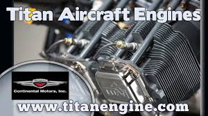 Titan Engine, Titan Aircraft Engine, 180 HP Titan engine for light ...