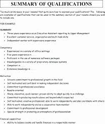Summary Sample Resume 50 Inspirational Collection Of Resume Summary Examples For Customer