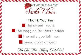 Thank You Santa Letter Template Getpicks Co