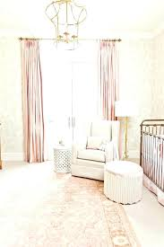 enchanting blush pink curtains colored shower blackout gold chandelier white rocking chair and next decorating