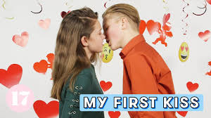 Kissing her more three teens