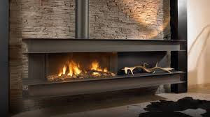 seno modern wall hung gas fire for best fireplace wall design