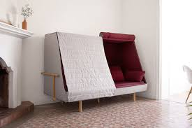 couch that turns into a bed. The Idea Was To Make An Object That Could Dive Us Into Childhood And A Cocoon Universe. Couch Turns Bed N