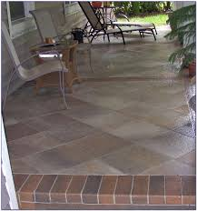 delighful patio outdoor tile over concrete patio patios home design tiles l exterior for house outside garden interlocking ideas slate paving porch ceramic
