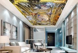 Großhandel Luxus Europäischen Stil 3d Decke Tapete Jesus