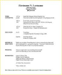 How To Fill Out A Resume Amazing How Do You Fill Out A Resumes Canreklonecco