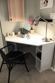 office desks ikea. the borgsj corner desk tucks neatly in a with enough top space and storage office desks ikea e