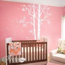 nt008 white tree decal huge tree wall