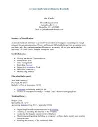 Entry Level Accounting Resume Objective Best Business Template