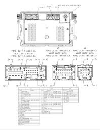 mercury mariner radio wiring diagram  2005 mercury mariner radio wiring diagram jodebal com