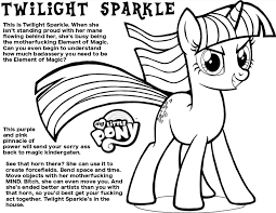 Small Picture Aggressive Coloring Book Twilight Sparkle My Little Bronies