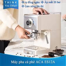 REVIEW] Máy pha cà phê bán tự động Espresso ACA ES12A 20 Bar Máy xay cà  thương gia dụng, giá 1,900,000đ! Xem review ngay!