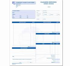 Free Cleaning Service Invoice Template Excellent Resume Templates ...