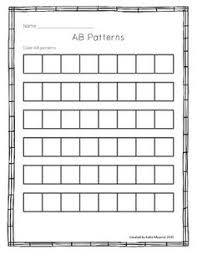 Pattern Activities For Preschoolers Impressive Early Childhood Math Worksheets Math Activities Pinterest
