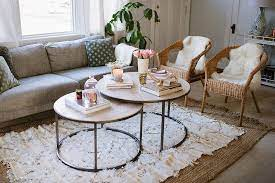 living room furniture layout coffee table