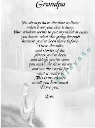 Grandpa And Me Poem It Will Be Posted To You In A Board Backed Simple Grandpa Quotes