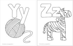 Printable Alphabet Coloring Pictures Get The Free Printable Alphabet