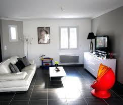 Exceptional Salon Gris Et Blanc Design Salon Rouge Decoration Salon Design Gris Et  Blanc .