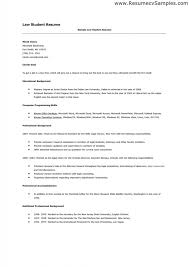 Download Now 12 Sample Law Student Resume - Gain Creativity