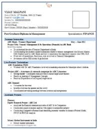 Alluring Resume Format For Bank Po Fresher On 7 Fresher Teacher ...