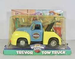 Amazon.com: Chevron Cars Trevor Tow Truck with Working Tow Bar: Toys ...