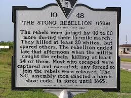what impact did the stono rebellion have on the lives of slaves