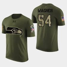 Seahawks Color - Rush Wagner Green T-shirt Men's Bobby