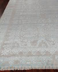 hand loomed wool rug